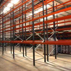 Storax Pallet Racking SP80 Supplied & Installed by Shelf Space Limited