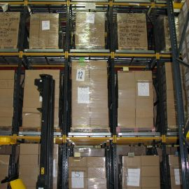 Pallet Live Racking for FI-Fo pallet storage