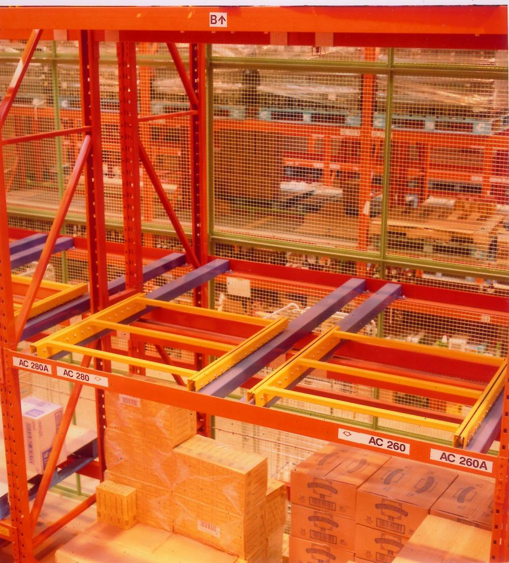Adjustable Pallet Racking For Flexible Beam Positioning