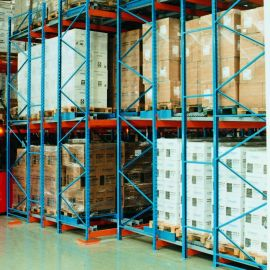 LI - FO Last In - First Out Pallet Storage System