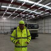 High bay lighting supplied and Installed by Shelf Space Ltd