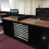 10 x Bespoke benches to the companies specific requirements