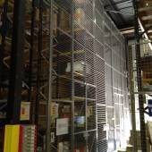 Mesh Bonded Area created with pallet racking and Anti-Collapse Mesh