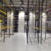 Two Tier Shelving Structure Installation plus Pallet Racking