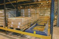 Push Back Pallet Packing