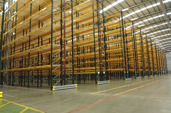 Conventional 'Wide Aisle' Pallet Racking