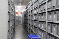 Shelf Space supplied over 12'000 high quality plastic containers / totes of various sizes and colours for use within the shelving and conveyors