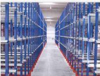 Shelving aisle