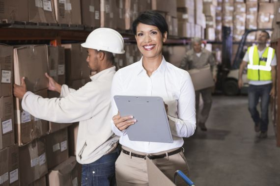 Warehouse stock control manager