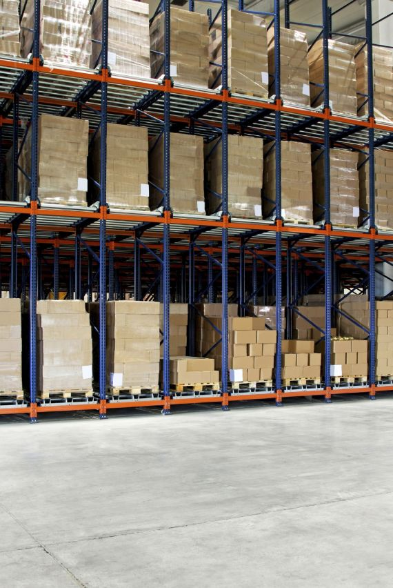 Shelf Space Warehouse Pallets Racking