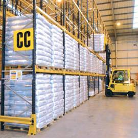 Wide Aisle Pallet Racking in warehouse