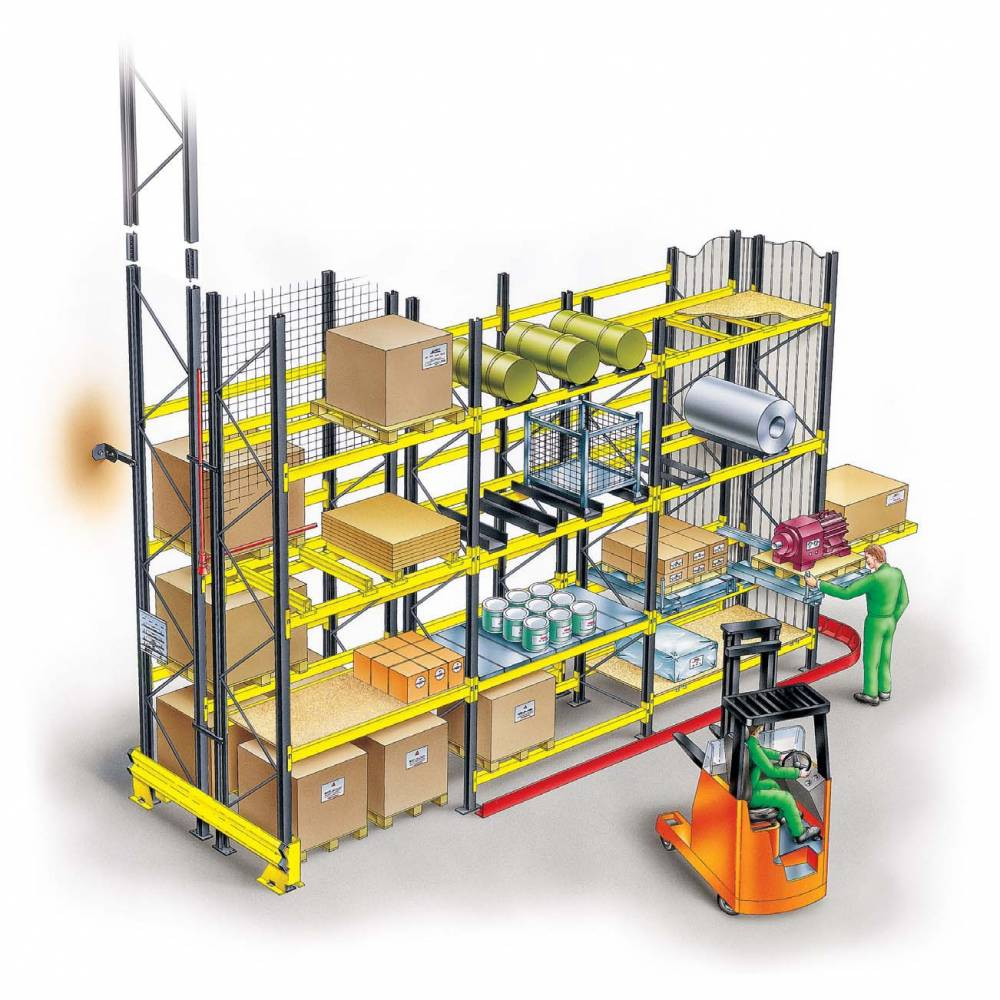 Warehouse pallet racking and industrial pallet racking systems for Decor systems