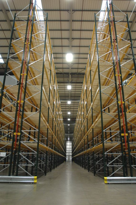 Warehouse Pallet Racking Supplied & Installed to your Specific Requirements.