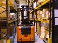 Save up to 50% of your valuable floor space over conventional Narrow Aisle Pallet Racking