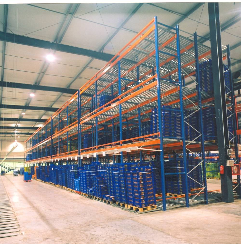 Dynamic Storage Systems Dynamic Pallet Racking Shelf