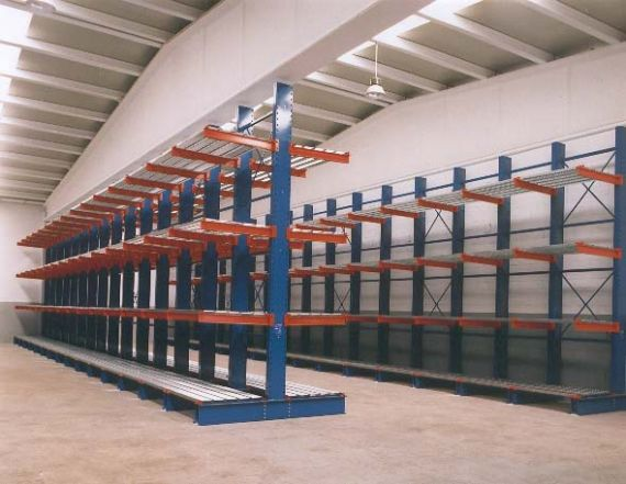 Cantilever Racks - Heavy Duty Custom Bulk Storage Racks