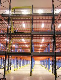 Customed Designed Multi-Tiered Racking Structures