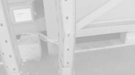 Damaged pallet racking 2